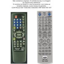 Controle Raf Videokê Videoke Vmp 9000 Fbt 447