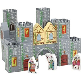 Castillo Medieval De Madera Melissa & Doug. Bloques.