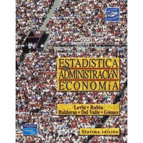 Libro: Estadística Para Administración Y Economía - Pdf