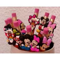 Bonito Regalo Infantil Día Del Niño Lápices Mickey Mouse