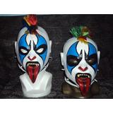 Mascara De Luchador Psycho Clown Niño Modelo Original Latex