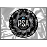 Pósters Escudo Policía Seguridad Aeroportuaria -42x30 Nuevos