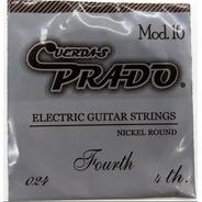 Cuerda 4 A Para Guitarra Elec. Prado (paquete 10 Pzas)