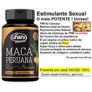 Maca Peruana 60 Capsulas Premium Unilife