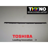 Plastico Teclado Toshiba C640 C645 C645d Barita Bezel