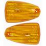 Lente Pisca Nx4 Falcon Laranja Par Serjão Motos Peças