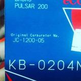 Kit De Carburador Original Pulsar 200