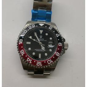 Reloj Rolex Gmt-master || Acero, Bisel Negro Y Rojo Aut