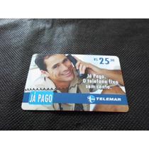 Cartão Telefônico - Pré Pago - Já Pago - Nº 453
