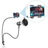 Soporte Y Antipop Para Microfono Y Celular / Araña Soporte