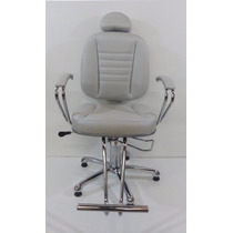 Poltrona Cadeira Turquesa Fixa-moveis Salao Cabeleireiro