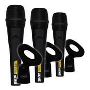 Set De Microfonos X3u Skp Pro33k Dinamico Cardioide + Pipeta