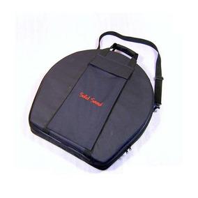 Case Pratos 20 Polegadas Solid Sound Hard Bag Estojo Leve