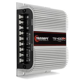Potencia Taramps T 400 Digital 400w P/ Driver 6x9 Tweeter