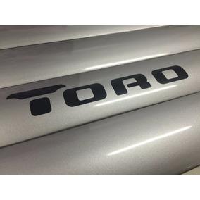 Jogo De Friso Fiat Toro Prata Melfi 4 Porta Lateral Pintado