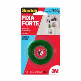 Fita Dupla Face Fixa Forte 19mm X 2m Scotch 3m