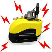 Candado Motos Seguro P/ Disco Freno Alarma Alta Seguridad Am