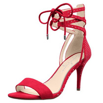 Sandalias Rojas Fiesta Boda Evento Vestidos Noche