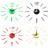Reloj De Pared Moderno 3d De Acrilico