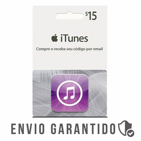 Itunes Gift Card $15 Dólares Usa Envio Imediato