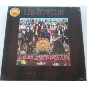 Lp Triplo Led Zeppelin Fab 4 Liverpool Super Limited Edition