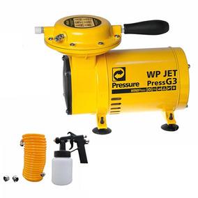 Compressor Ar Direto Wp Jet Press G3 Com Kit Bivolt Pressure