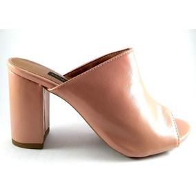 fe1b4f09c8 Sapato Mule Paula Bahia Peep Toe - Sapatos no Mercado Livre Brasil