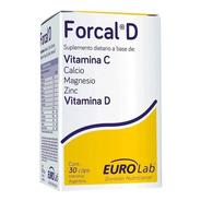 Forcal D 30 Cápsulas Fortalece La Respuesta Inmune Eurolab