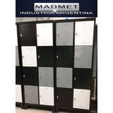 Lockers Metalico 8 Puertas Unico 52cm Prof Envio Gratis 72hs