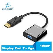 Adaptador Convertidor Displayport A Vga Elegate Wi70