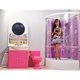 Banheiro Completo P/bonecas Barbie Susi Ever Aft,casa Móveis