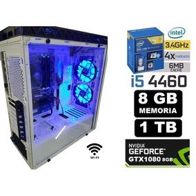 Pc Gamer Cpu Core I5 4460 8gb Hd 1tb Wifi Gtx1080 8gb F 500w