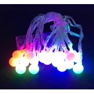 Guirnalda Luces Bolitas De Colores Ec-2884