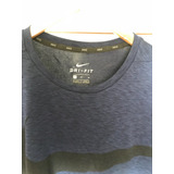 Polera O Camiseta Nike Training Noviembre 2017 Azul Talla M