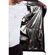 Campera Micropolar Aluminizado Hombre Black Rock