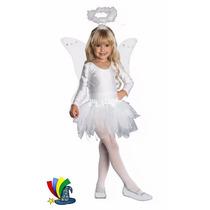 Disfraz Navidad Angelita Tutu Niña Pastorelas