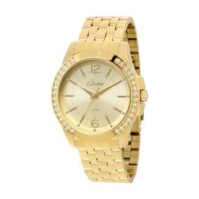 Relógio Condor Feminino Braceletes Co2035kou/4d - Dourado