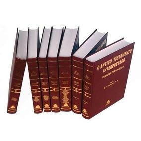 Antigo Testamento Interpretado Champlin 7 Volumes Frete Grat