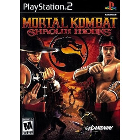 Patch Jogo Mortal Kombat Shaolim Monk Play2 Ps2 Playstation2