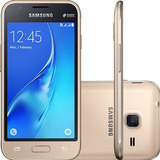 Celular Samsung Galaxy J105 J1 Mini Dourado