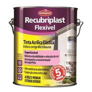 Tinta Acrílica Elástica Recubriplast Flexível 18 Lt