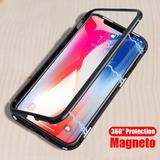 Capa Case Magnetica Dupla Anti Impacto Iphone 6 7 8 Plus X