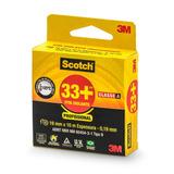 Fita Isolante 3m Scotch 33+ Preta - 19mm X 10m