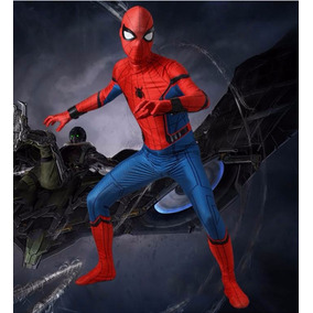 Traje Disfraz Spiderman Homecoming Adulto Cosplay Spider Man