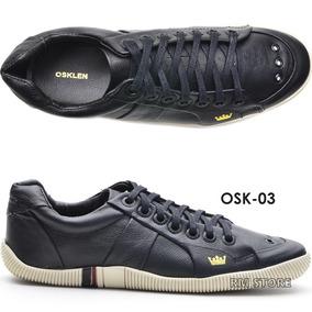 Sapatenis Osklen Tenis Masculino Couro Riva 100% Original