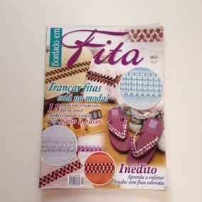 Revista Bordado Em Fita Toalhas N°08