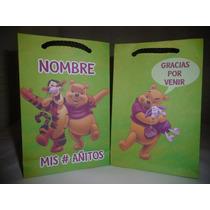 Bolsitas Artesanales P/cumpleaños. Winnie Pooh X Unidad
