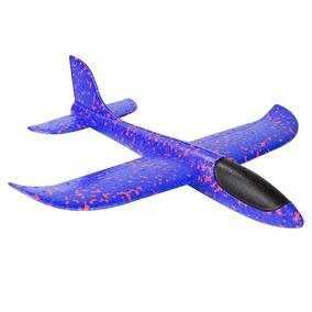 Avion Planeador Con Luz Led Hielo Seco Unicel Grande