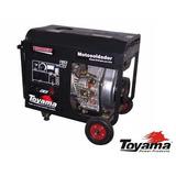 Motosoldador Toyama Diesel 160amp, 2.2 Kw, 120v Modelo T5000