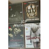 Kit: 4 Filmes De Terror Dvd
